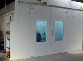 industrial paint cabins