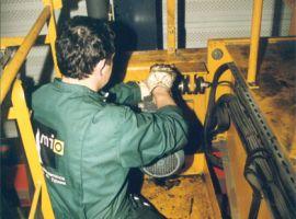 Gantry crane preventative maintenance