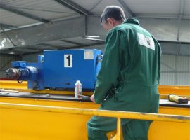 Overhead crane maintenance