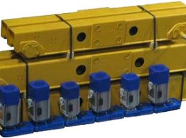 The assembly of overhead crane components