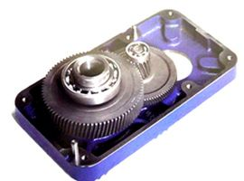 Geared motor units for end-carriages AMIO Levage