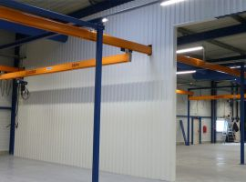 The PROSYSTEM single-girder crane