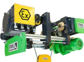 Stahl Atex electric hoist