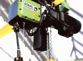 ATEX zone hoists