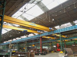Single-girder and double-girder overhead cranes